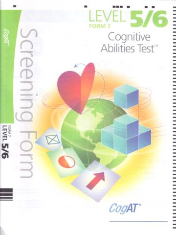Cognitive Abilities Test™ (CogAT®)