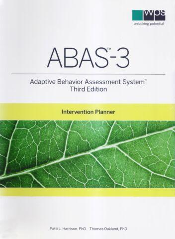 ABAS-3 Intervention Planner (hard copy)