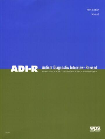 ADI-R Manual