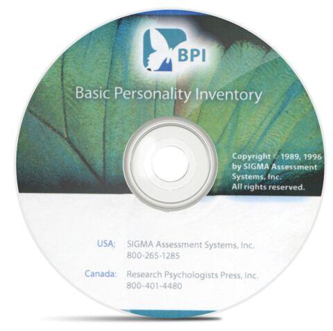 Basic Personality Inventory (BPI)