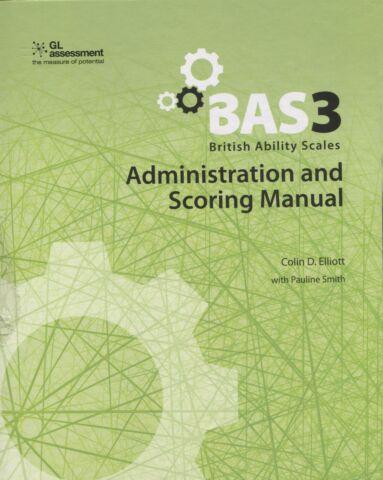 BAS-3 Administration and Scoring Manual