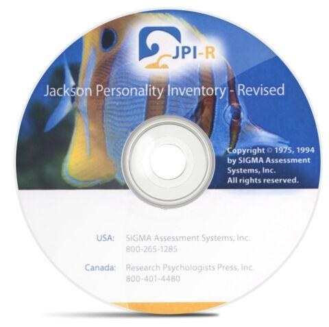 Jackson Personality Inventory-Revised (JPI-R)