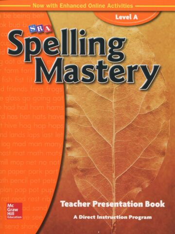 Spelling Mastery - Level A Teacher Materials