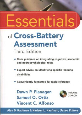 Essentials of Cross-battery Assessment 3rd ed.