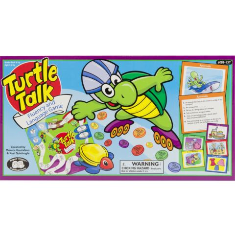 Turtle Talk Fluency and Language Game