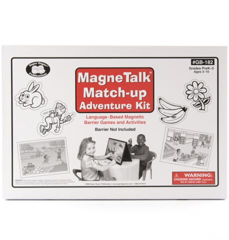 MagneTalk Match-up Adventures Kit (with barrier)