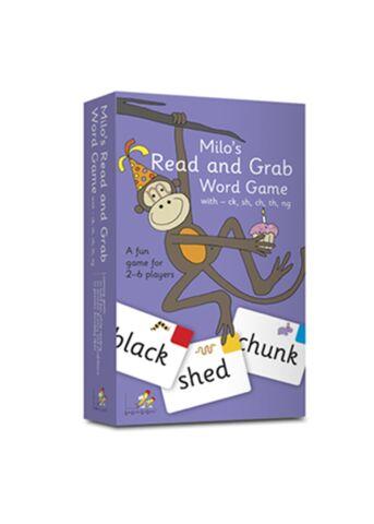 Milo's Read and Grab Orange Game 4