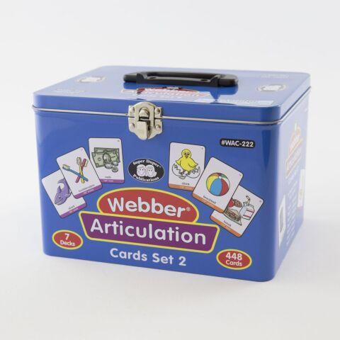 Webber Articulation Cards - Set 2