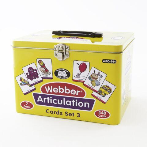 Webber Articulation Cards - Set 3