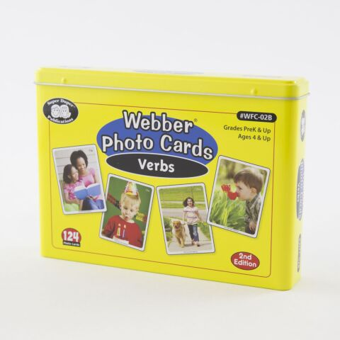 Webber Photo Cards – Verbs Revised