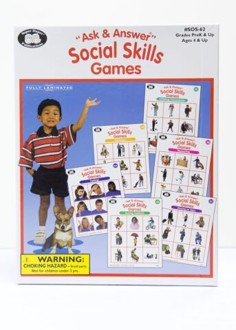 Ask & Answer Social Skills Game