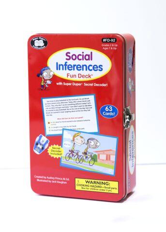 Social Inferences Fun Deck