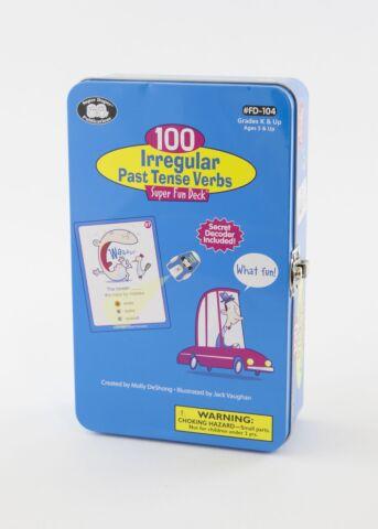 100 Irregular Past Tense Verbs Fun Deck