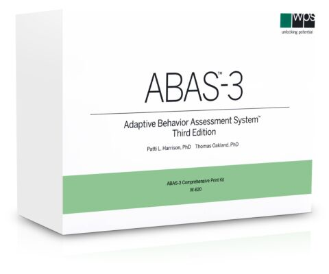 ABAS-3 Comprehensive Kit (0-89 Years)