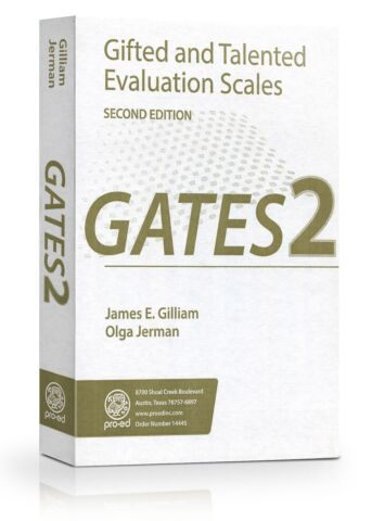 Gifted and Talented Evaulation Scales 2nd ed. (GATES-2) Complete Kit