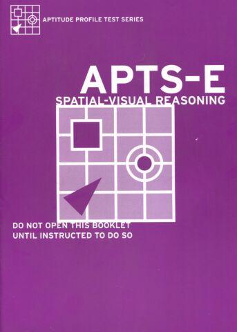Aptitude Profile Test Series-Educational (APTS-E) Spatial Reasoning Test Booklet