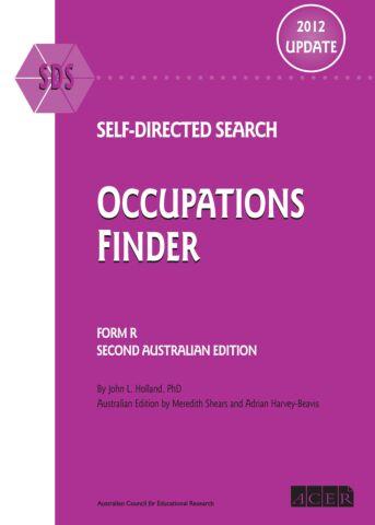 SDS Australian 2012 Update Occupations Finder (pkg 10)