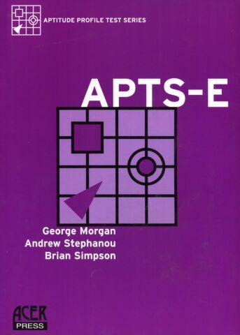 Aptitude Profile Test Series-Educational (APTS-E) Manual
