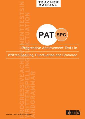 PAT-SPG Manual and CD