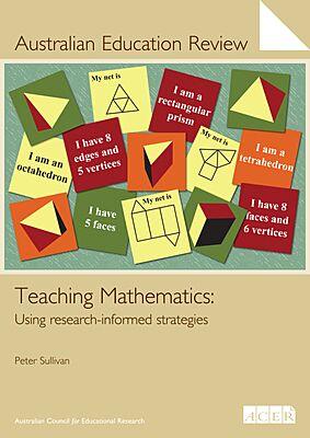 Australian Education Review No. 59-Teaching Mathematics PDF