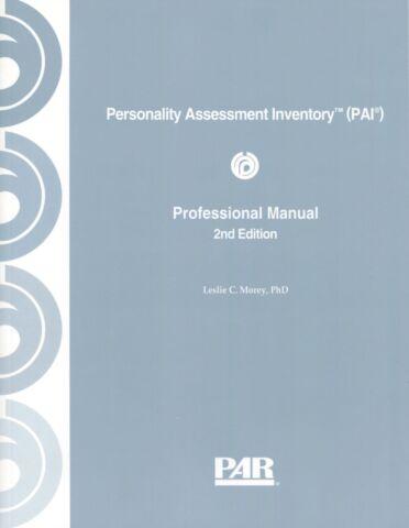 PAI 2nd ed. Professional e-Manual