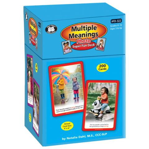 Photo Multiple Meanings Super Fun Deck