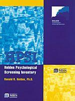 Holden Psychological Screening Inventory  (HPSI)