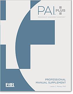 PAI Plus Manual Supplement