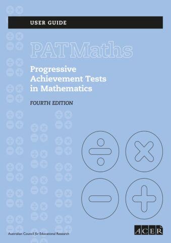 PAT Maths 4th ed. User Guide PDF