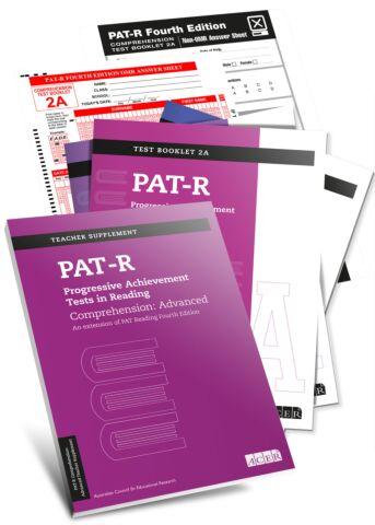 PAT-R Comprehension: Advanced complete specimen set