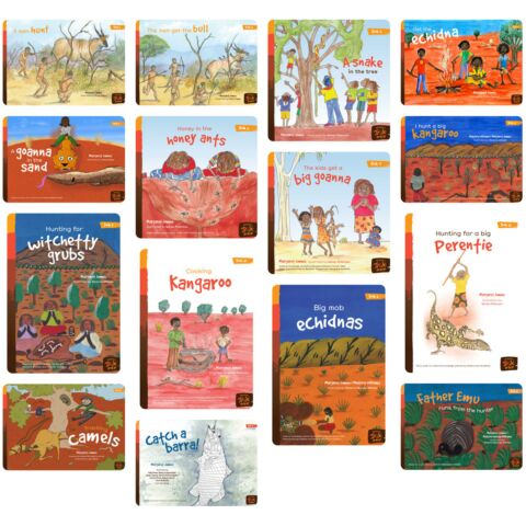 Reading Tracks – Books 1-15