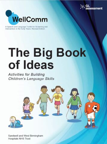 WellComm Early Years: Big Book of Ideas